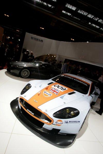 2008 Autosport International Show - ThursdayNEC, Birmingham. 10th January 2008.Aston Martin DBR9 in Gulf colours.World Copyright: Gary Hawkins/LAT Photographicref: Digital Image _58K0442