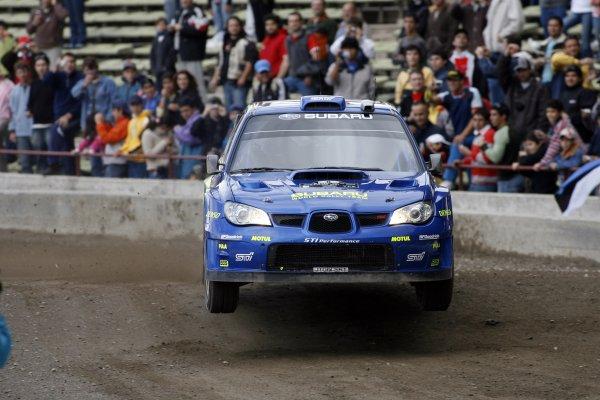 2007 FIA World Rally Champs. Round 6Rally Argentina, 3 May - 6 May Chris Atkinson, Subaru, actionWorld Copyright: McKlein/LAT