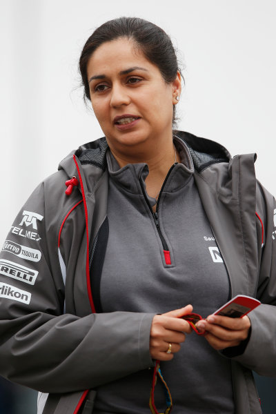 Interlagos, Sao Paulo, Brazil. Friday 7 November 2014. Monisha Kaltenborn, Team Principal and CEO, Sauber. World Copyright: Charles Coates/LAT Photographic. ref: Digital Image _N7T7317