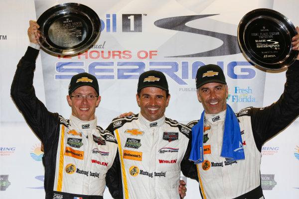 19-21 March, 2015, Sebring, Florida, USA Overall winners  5, Chevrolet, Corvette DP, P, Joao Barbosa, Christian Fittipaldi, Sebastien Bourdais, ©2015, Michael L. Levitt LAT Photo USA