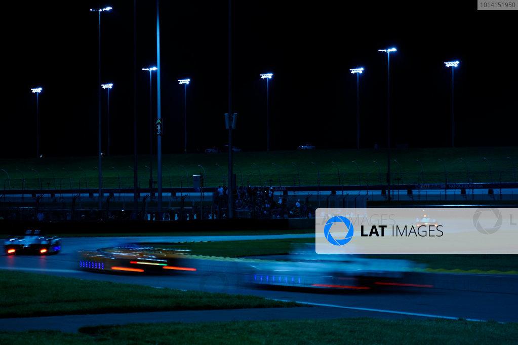 6-7 June, 2014, Kansas City, Kansas USA PC's race through turns 2 and 3 ?2014, F. Peirce Williams LAT Photo USA