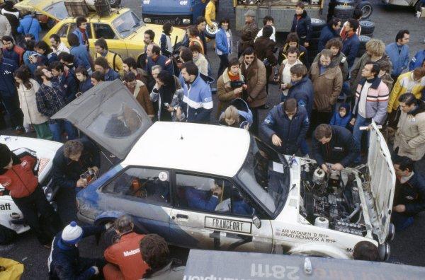 1979 World Rally Championship.Monte Carlo Rally, Monaco. 20-26 January 1979.Ari Vatanen/David Richards (Ford Fiesta), 10th position.World Copyright: LAT PhotographicRef: 35mm transparency 79RALLY13