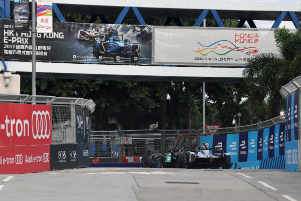 2017/2018 FIA Formula E Championship. Round 1 - Hong Kong, China. Saturday 02 December 2018. Maro Engel (GER), Venturi Formula E, Venturi VM200-FE-03. Photo: Mark Sutton/LAT/Formula E ref: Digital Image DSC_8575