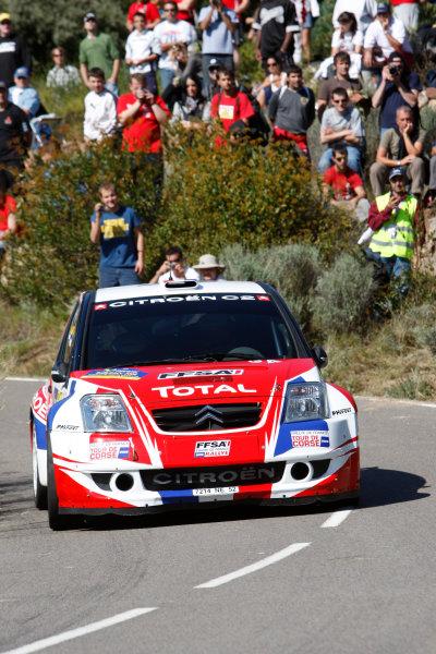 Round 11, Rally of Spain, Catalunya2nd-5th October 2008Sebastien Ogier, Citroen, actionWorldwide Copyright: McKlein/LAT
