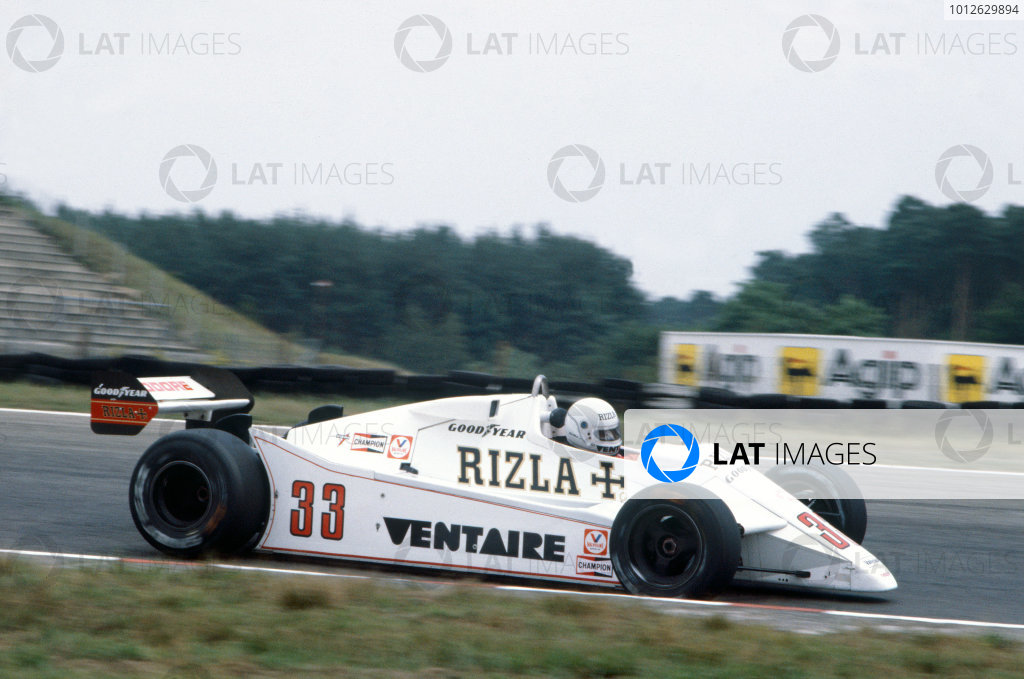 Hockenheim, Germany. 6th - 8th August 1982.