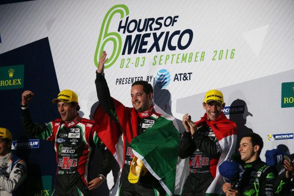 2016 FIA World Endurance Championship, Mexico City, Autodromo Hermanos Rodriguez, 1st-3rd September 2016, Ricardo Gonzalez / Felipe Albuquerque / Bruno Senna - Ligier JSP2 - Nissan World Copyright. Jakob Ebrey/LAT Photographic