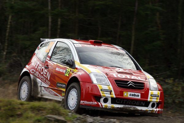 2006 FIA World Rally Champs. Round sixteen.Wales Rally GB. 1st-3rd December 2006.Kris Meeke, Citreon, action.World Copyright: McKlein/LAT