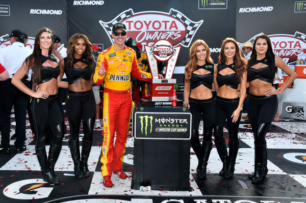 Monster Energy NASCAR Cup Series Toyota Owners 400 Richmond International Raceway, Richmond, VA USA Sunday 30 April 2017 Joey Logano, Team Penske, Shell Pennzoil Ford Fusion wins. World Copyright: Rusty Jarrett LAT Images ref: Digital Image 17RIC1rj_4459