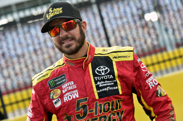 Monster Energy NASCAR Cup Series Monster Energy NASCAR All-Star Race Charlotte Motor Speedway, Concord, NC USA Friday 19 May 2017 Martin Truex Jr, Furniture Row Racing, 5-hour Energy Extra Strength Toyota Camry World Copyright: Nigel Kinrade LAT Images ref: Digital Image 17CLT1nk03070
