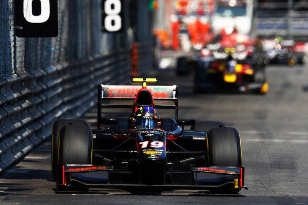 2017 FIA Formula 2 Round 3. Monte Carlo, Monaco. Saturday 27 May 2017. Johnny Cecotto Jr. (VEN, Rapax)   Photo: Zak Mauger/FIA Formula 2. ref: Digital Image _31I9534