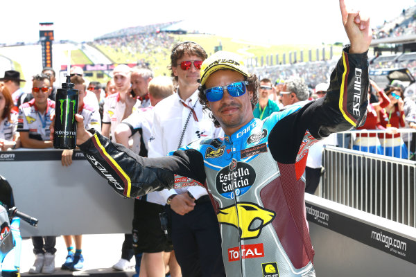 2017 Moto2 Championship - Round 3 Circuit of the Americas, Austin, Texas, USA Sunday 23 April 2017 Race winner Franco Morbidelli, Marc VDS World Copyright: Gold and Goose Photography/LAT Images ref: Digital Image Moto2-Post-100-2907
