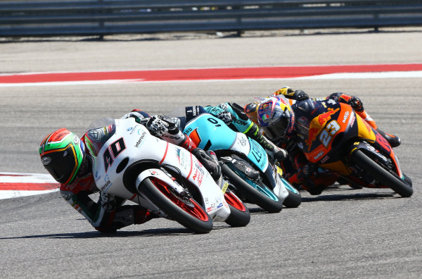 2017 Moto3 Championship - Round 3 Circuit of the Americas, Austin, Texas, USA Sunday 23 April 2017 Darryn Binder, Platinum Bay Real Estate World Copyright: Gold and Goose Photography/LAT Images ref: Digital Image Moto3-R-500-2961