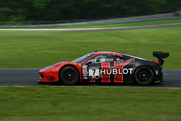 Pirelli World Challenge Grand Prix of VIR Virginia International Raceway, Alton, VA USA Friday 28 April 2017 Martin Fuentes/Stefan Johansson World Copyright: Richard Dole/LAT Images ref: Digital Image RD_PWCVIR_17_73