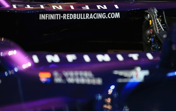 Milton Keynes, UK   The new Infiniti Red Bull Racing RB9 Photo: Richard Heathcote/Getty Images/Red Bull Racing () ref: Digital Image 160597648_10