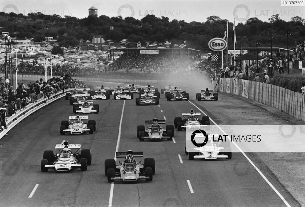 Kyalami, South Africa. 3rd March 1973.