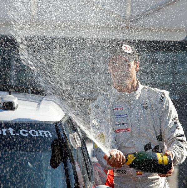 Round 11-Rallye de France. Dani Sordo, Mini WRC, Podium.Worldwide Copyright: McKlein/LAT