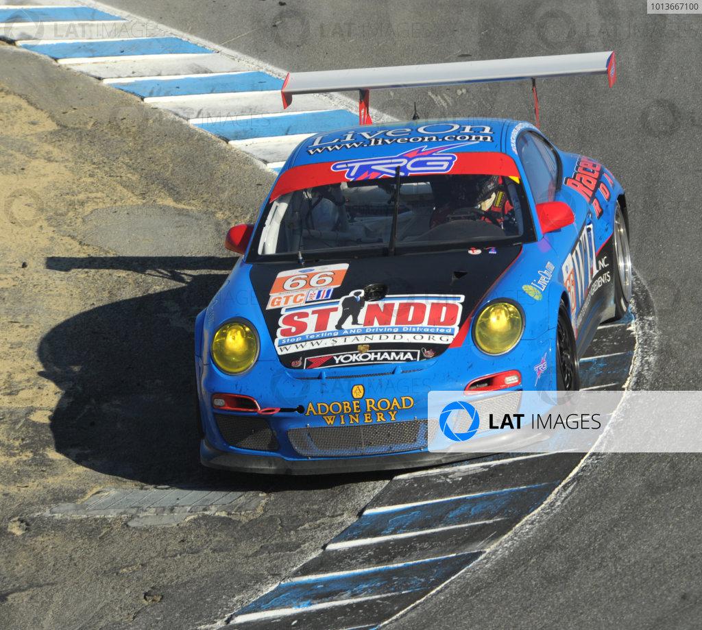 16-18 September, 2011, Monterey, California USA#66 TRG  Porsche 911 GT3 Cup(c)2011,  Dan R. Boyd  LAT Photo USA