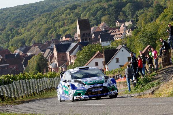 Round 11, Rallye de France 20124th - 7th October 2012Jari Matti Latvala, Ford, actionWorldwide Copyright: McKlein/LAT