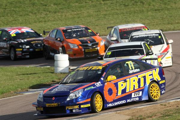 Rockingham, Northamptonshire. 17th - 18th September 2011.Andrew Jordan (GBR) Eurotech Racing Vauxhall Vectra.World Copyright: Ebrey/LAT Photographic.