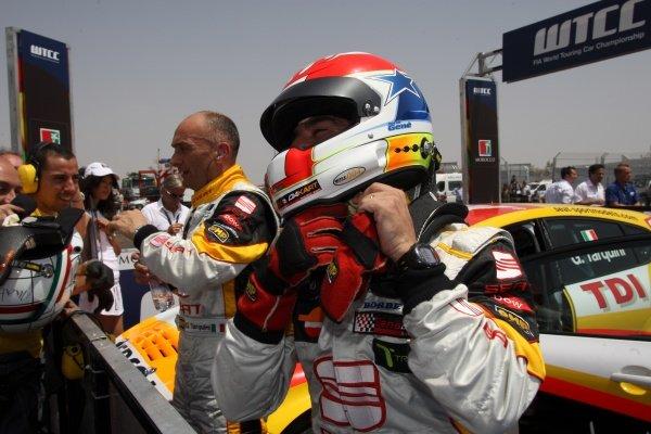 Jordi Gene (ESP), SEAT Leon 2.0 TDI. FIA World Touring Car Championship, Rd3, Marrakech, Morocco, 3 May 2009.