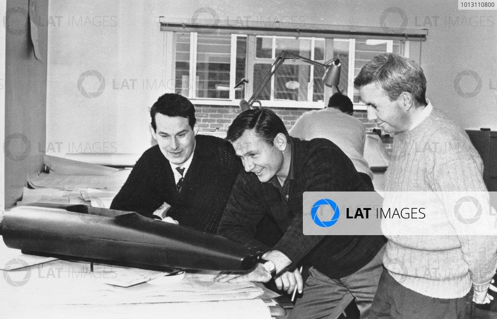 1968 Team McLaren Factory.