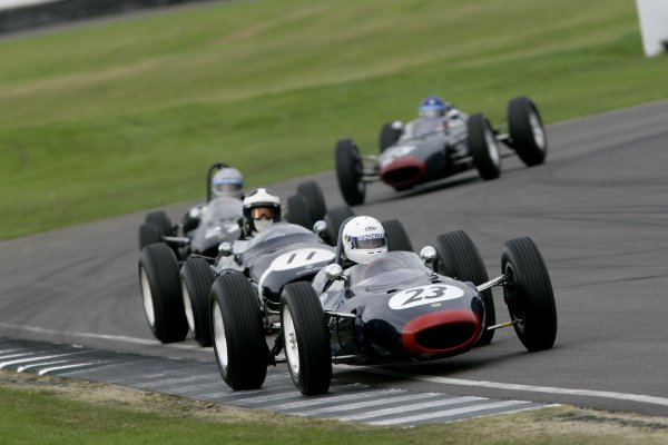 2007 Goodwood Revival Meeting.  Goodwood, West Sussex. 1st - 2nd September 2007.  Glover Trophy.  Rob Hall leads Sid Hoole. World Copyright: Gary Hawkins/LAT Photographic  ref: Digital Image Only