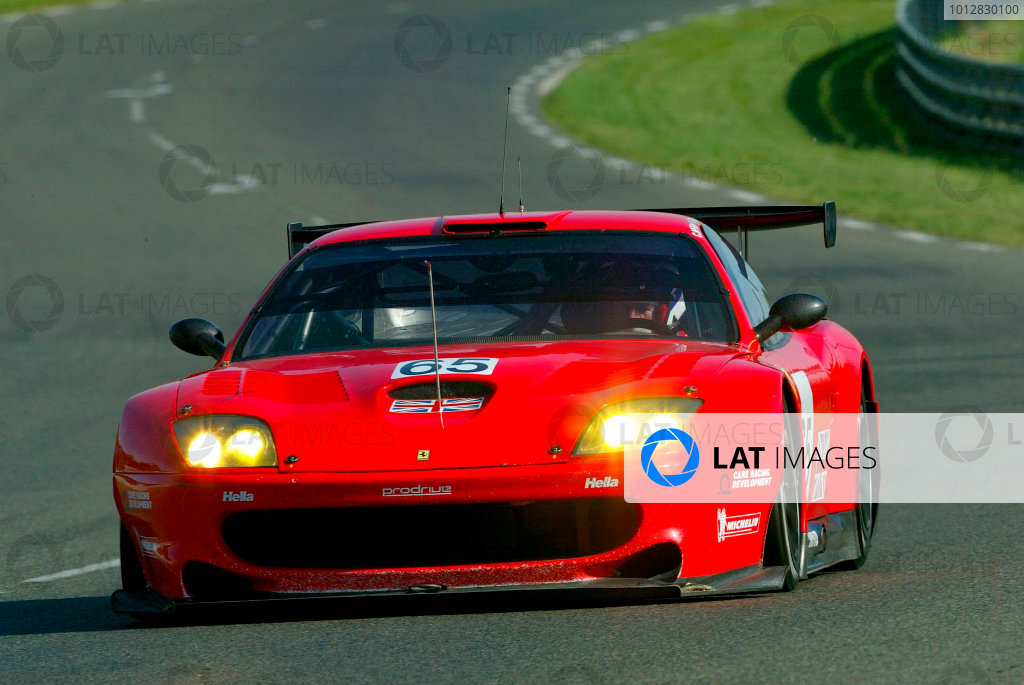 2004 Le Mans Pre-Qualifying, La Sarthe, France. 23rd - 25th April 2004.