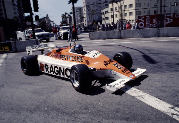 1982 United States Grand Prix West.Long Beach, California, USA.2-4 April 1982.Brian Henton (Arrows A4 Ford).Ref-82 LB 48.World Copyright - LAT Photographic
