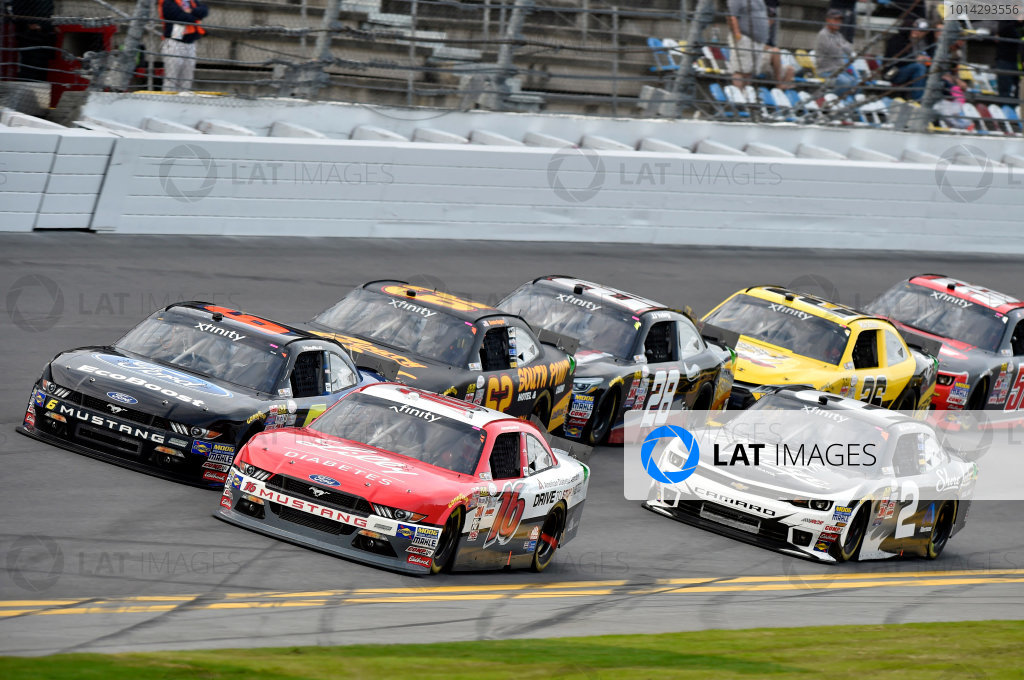 20-21 February, 2015, Daytona Beach, Florida USA Ryan Reed and Darrell Wallace Jr ? 2015, Nigel Kinrade LAT Photo USA