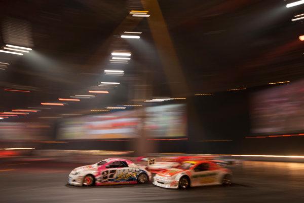 Autosport International Exhibition. National Exhibition Centre, Birmingham, UK. Sunday 11 January 2015. The Live Action Arena. World Copyright: Zak Mauger/LAT Photographic. ref: Digital Image _P7T0808