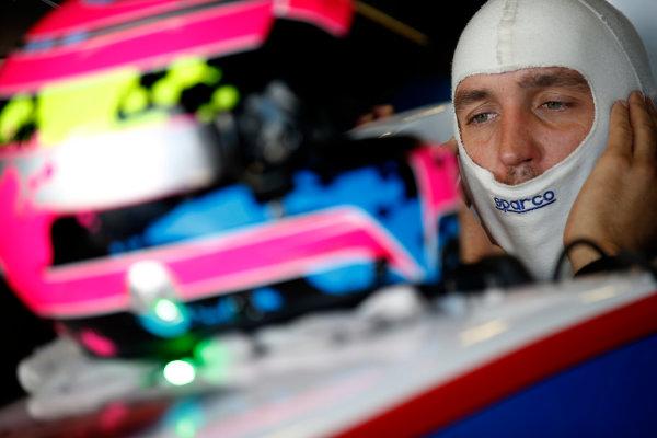 FIA Formula E Test Day, Donington Park, UK.  9th - 10th July 2014.  Franck Montagny, Andretti Autosport. Photo: Glenn Dunbar/FIA Formula E ref: Digital Image _89P3494