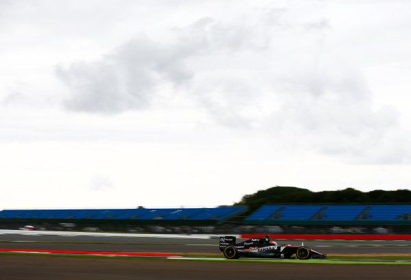 Silverstone, Northamptonshire, UK. Wednesday 13 July 2016. Nikita Mazepin, test and development driver, Force India VJM09 Mercedes.  World Copyright: Zak Mauger/LAT Photographic ref: Digital Image _L0U8429