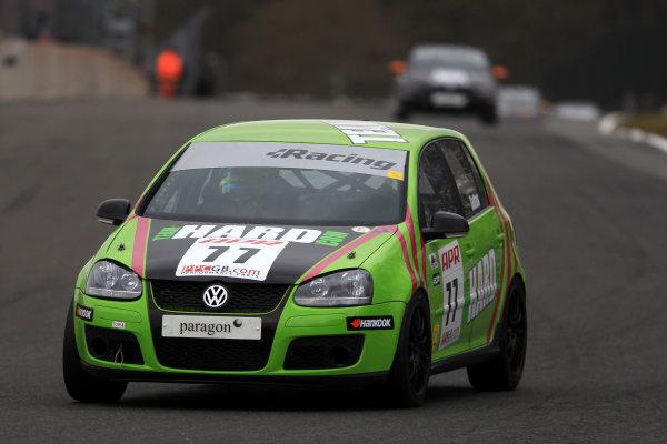 2013 Volkswagen Cup, Oulton Park, 1st April 2013, David Sutton () World Copyright: Jakob Ebrey/LAT Photographic