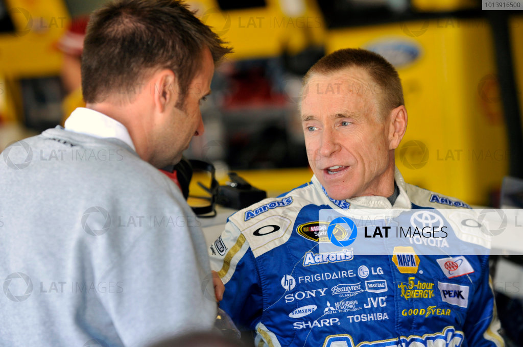 11-13 April, 2013, Fort Worth, Texas USA Mark Martin and Rodney Childers ©2013, Nigel Kinrade LAT Photo USA