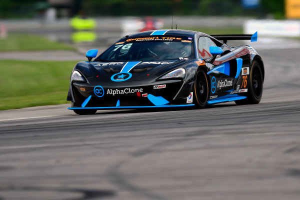IMSA Continental Tire SportsCar Challenge Lime Rock Park 120 Lime Rock Park, Lakeville, CT USA Friday 21 July 2017 76, McLaren, McLaren GT4, GS, Matt Plumb, Paul Holton World Copyright: Gavin Baker LAT Images