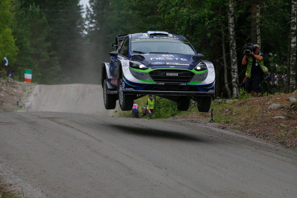2017 FIA World Rally Championship, Round 09, Rally Finland / July 27 - 30, 2017, Teemu Suninen, Ford WRC, Action  Worldwide Copyright: McKlein/LAT