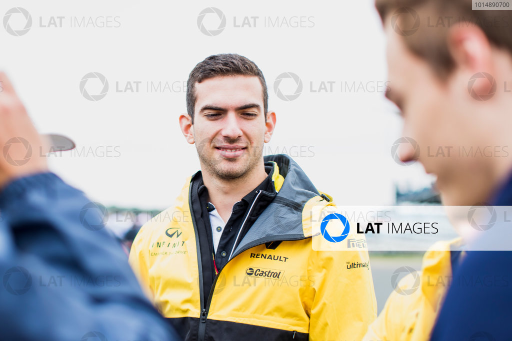 2017 FIA Formula 2 Round 6. Silverstone, Northamptonshire, UK. Saturday 15 July 2017. Nicholas Latifi (CAN, DAMS).  Photo: Zak Mauger/FIA Formula 2. ref: Digital Image _54I5126