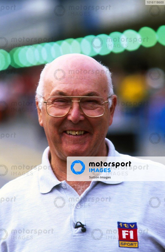 British TV Commentator Murray Walker