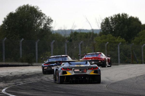 #25 BMW Team RLL BMW M8 GTE, GTLM: Connor De Phillippi, Bruno Spengler, #24 BMW Team RLL BMW M8 GTE, GTLM: John Edwards, Jesse Krohn, #4 Corvette Racing Corvette C8.R, GTLM: Oliver Gavin, Tommy Milner