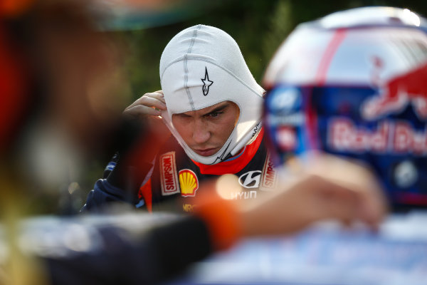 Thierry Neuville [Hyundai] starts Rally Finland as the WRC Championship leader