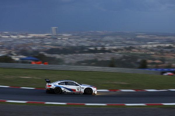 #42 BMW Team Schnitzer BMW M6 GT3: Augusto Farfus, Martin Tomczyk, Sheldon van der Linde.