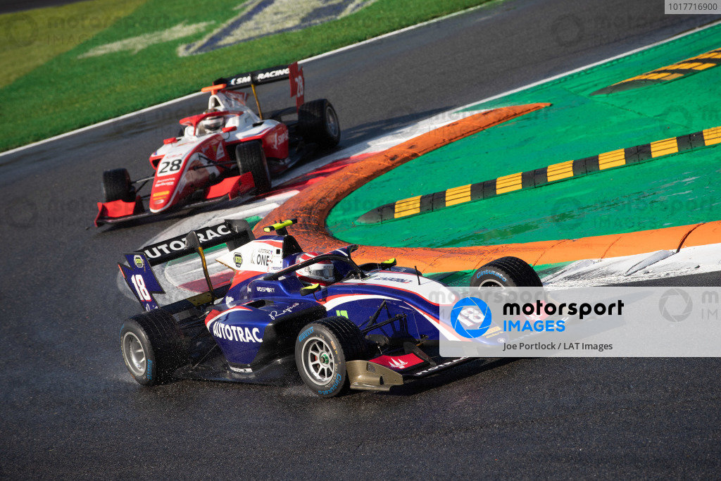 AUTODROMO NAZIONALE MONZA, ITALY - SEPTEMBER 08: Pedro Piquet (BRA, Trident) during the Monza at Autodromo Nazionale Monza on September 08, 2019 in Autodromo Nazionale Monza, Italy. (Photo by Joe Portlock / LAT Images / FIA F3 Championship)