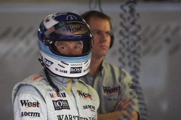 2001 Austrian Grand Prix.A1-Ring, Zeltweg, Austria.11-13 May 2001.Mika Hakkinen (McLaren Mercedes).World Copyright - Steve Etherington/LAT PhotographicRef:18mb Digital Image