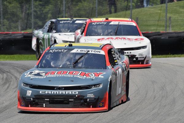 #10: Jeb Burton, Kaulig Racing, Chevrolet Camaro Rocky Boots