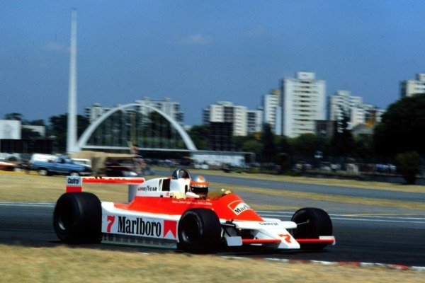1979 Argentinian Grand Prix. Buenos Aires, Argentina. 19-21 January 1979. John Watson (McLaren M28 Ford) 3rd position. World Copyright - LAT Photographic. Ref: 79ARG06