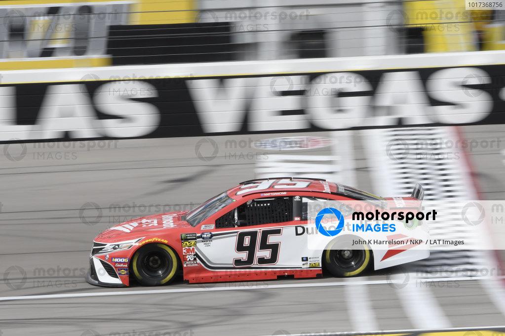 #95: Matt DiBenedetto, Leavine Family Racing, Toyota Camry Dumont JETS