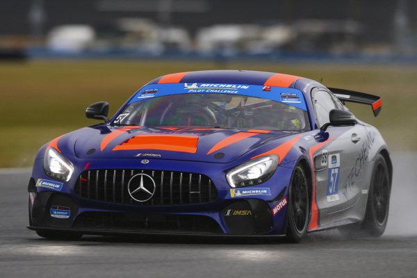 #57 Winward Racing / HTP Motorsport Mercedes-AMG, GS: Bryce Ward, Christian Hohenadel