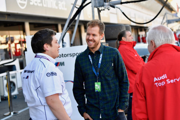 Sebastian Vettel (GER) at Audi Sport TT Cup, DTM Championship, Hockenheim, Germany, 14-15 October 2017.
