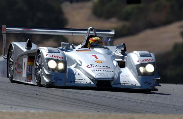 Frank Biela (GER) Joest Racing Audi R8 won the race.