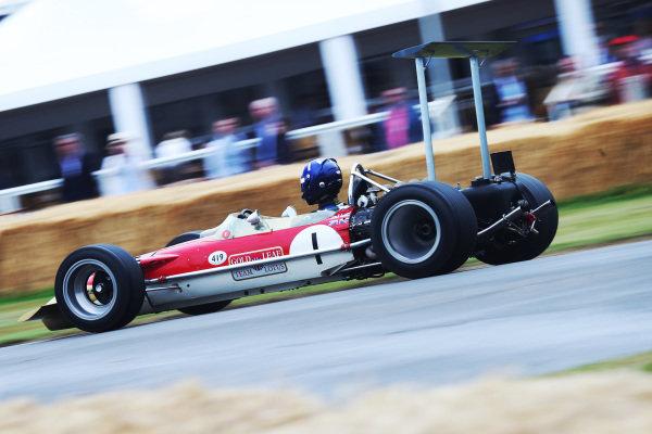 Josh Hill (GBR) Lotus 49